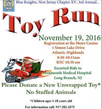 BKNJ 3rd Annual Toy Run - Atlantic Highlands, NJ biker event motorcycles